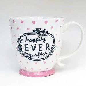 Happily EVER After Polka Dot Coffee Mug Tea Cup